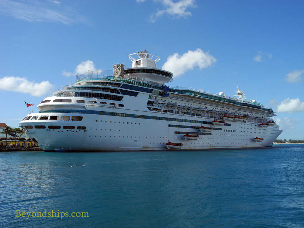 Royal Caribbean cruise ship Majesty of the Seas in Nassau