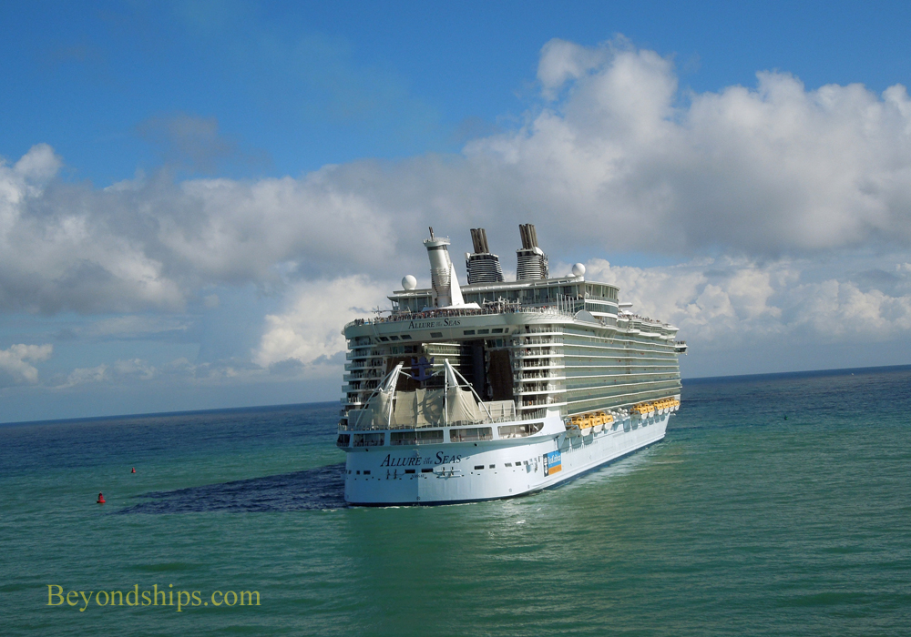 Picture Allure of the Seas cruise ship