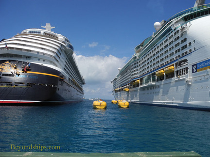 Lifeboat drill on Adventure of the Seas