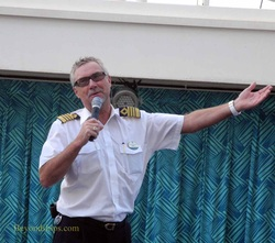 Captain Johnny Faevelen of Allure of the Seas