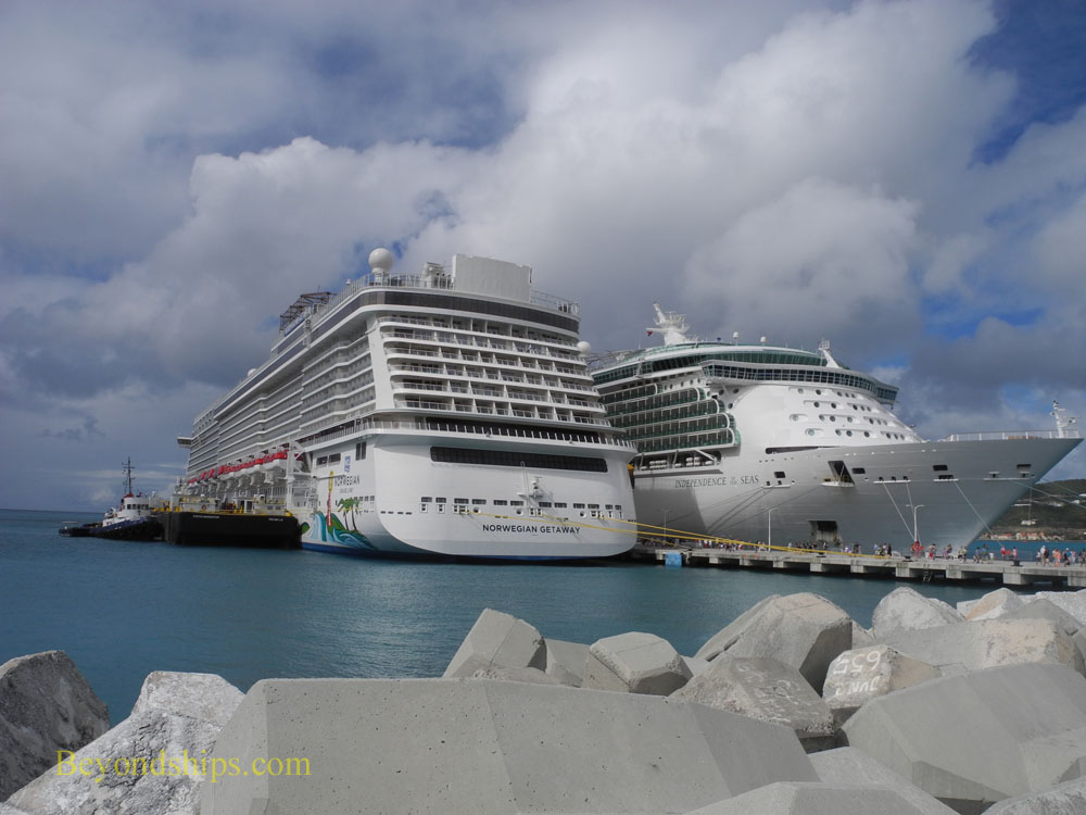 Norwegian Getaway and Independence of the Seas