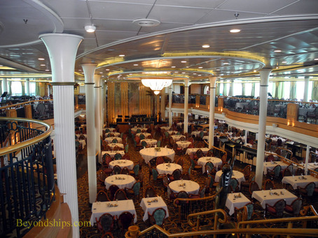 Grandeur of the Seas main dining room