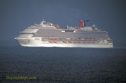 Carnival Magic cruise ship.