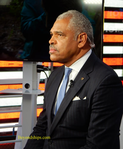 Arnold Donald, CEO, Carnival Corporation