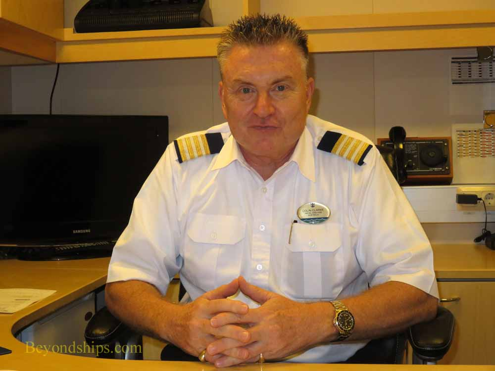 Colin Clarke, Hotel Director on Enchantment of the Seas