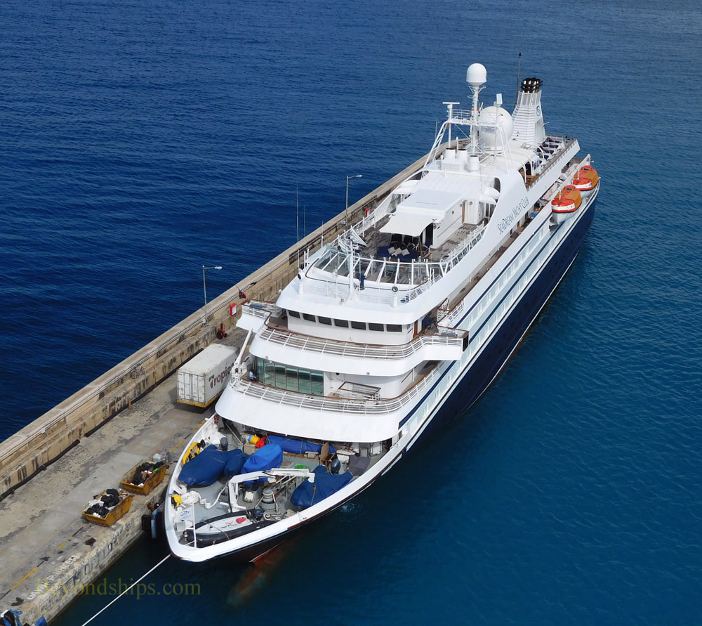 Seadream I cruise ship