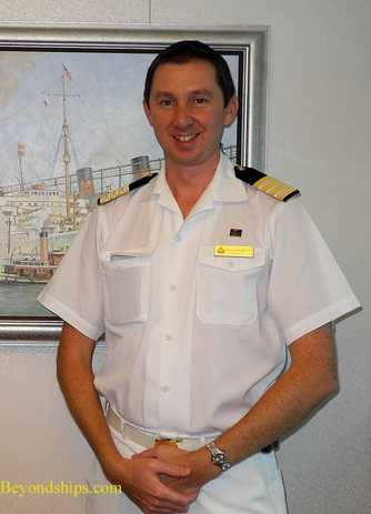 PHotel Manager David Shepard of Cunard Lineicture