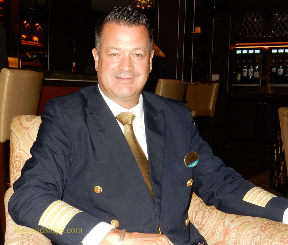 Hotel Director Ron Ness of cruise ship Anthem of the Seas